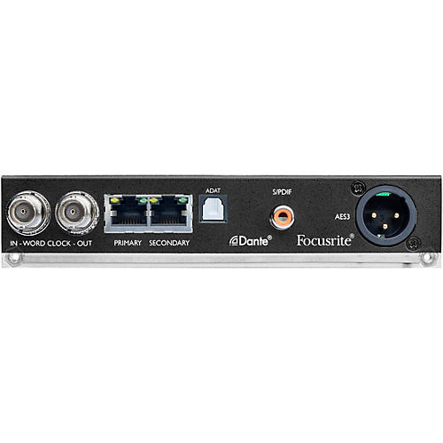 Focusrite ISA ADN2 2-Channel Dante Network A/D Card for ISA One