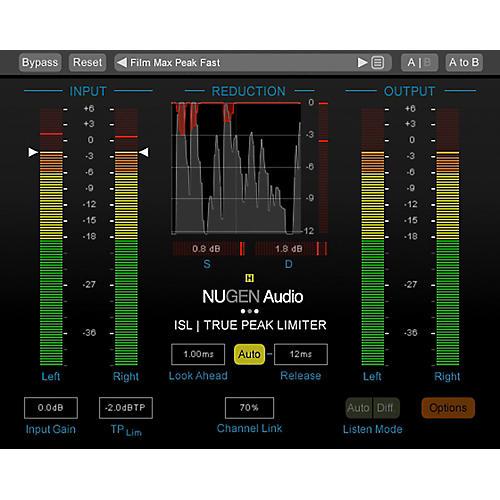 NuGen Audio ISL 2st True-Peak Limiter