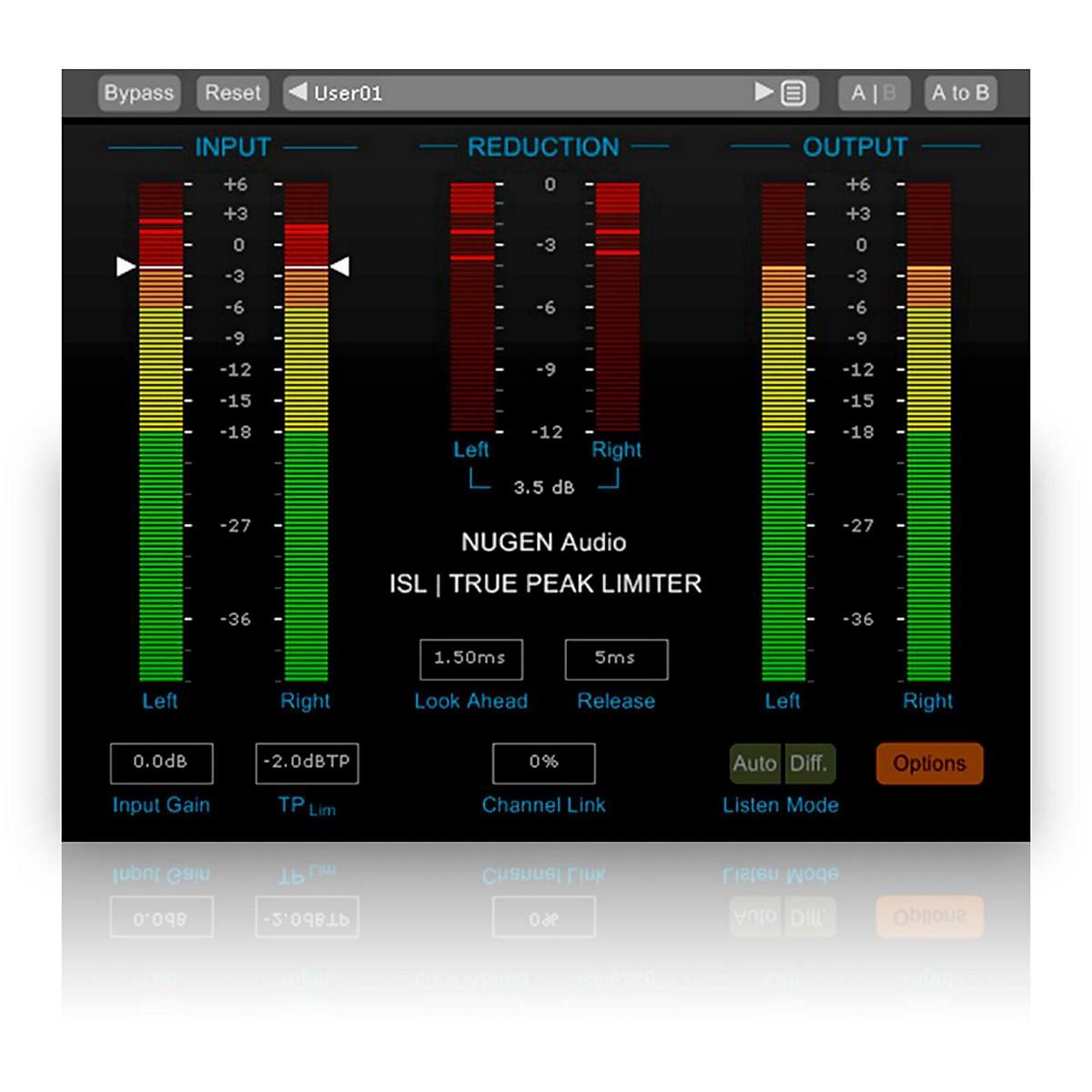NuGen Audio ISL True-Peak limiter Software Download