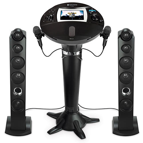 The Singing Machine ISM1060BT Hi-Def Pedestal Karaoke System