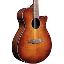 Ibanez AEG70 Grand Concert Acoustic/Electric Guitar Flamed Maple Top Violin Burst