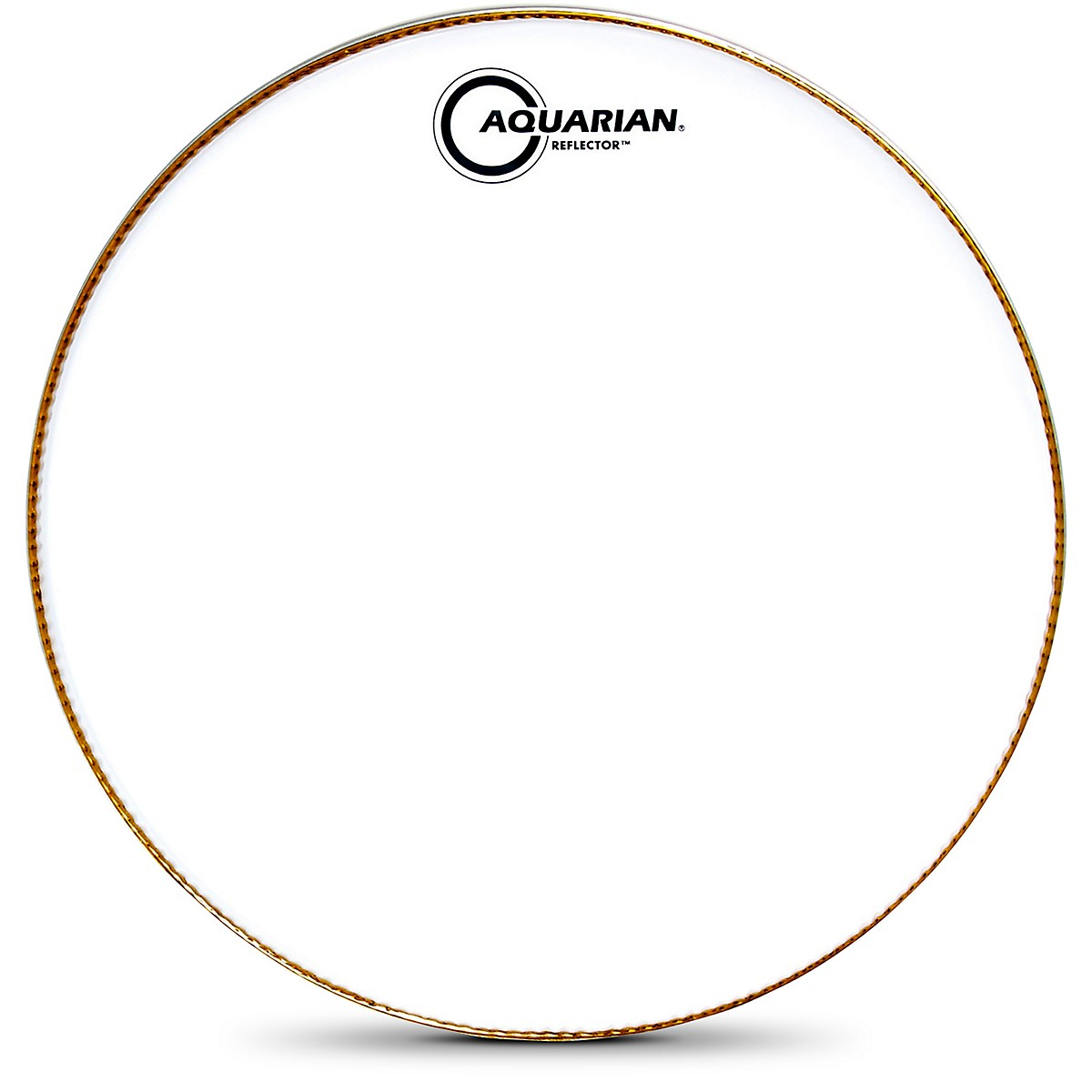 Aquarian Ice White Reflector Bass Drum Head