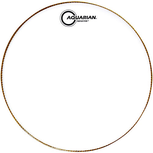 Aquarian Ice White Reflector Drum Head