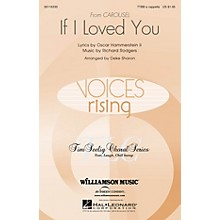 Hal Leonard If I Loved You (from Carousel) TTBB A Cappella arranged by Deke Sharon