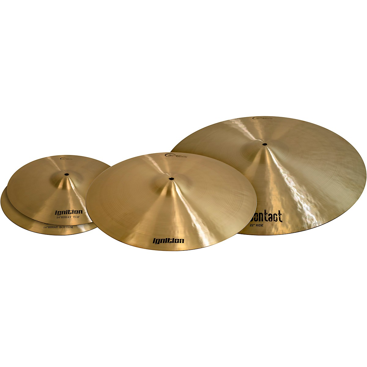 Dream Ignition 3-Piece Cymbal Pack, Large Sizes