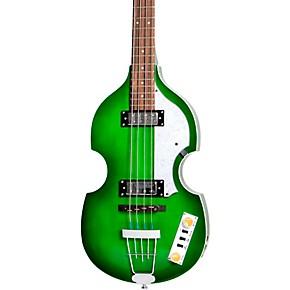 Hofner Ignition Series Violin Bass Green Burst