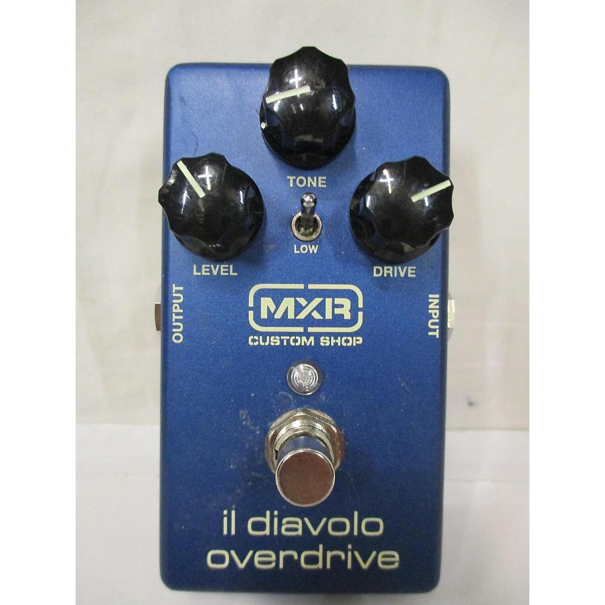 MXR Il Diavolo Overdrive Effect Pedal