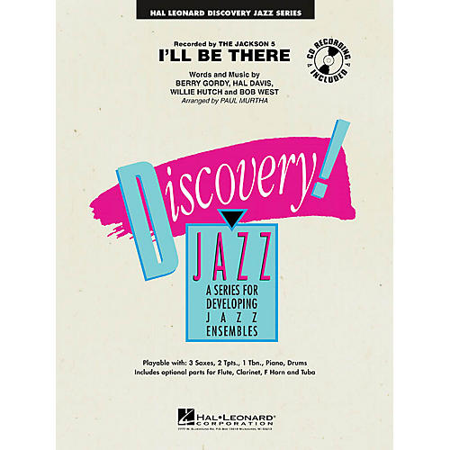 Hal Leonard I'll Be There Jazz Band Level 1 by The Jackson 5 Arranged by Paul Murtha