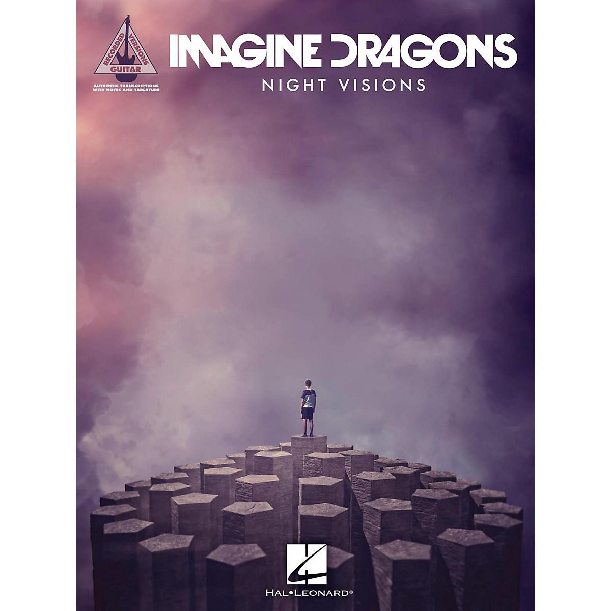 Hal Leonard Imagine Dragons - Night Visions Guitar Tab Songbook