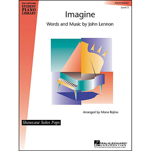 Hal Leonard Imagine Intermediate Level 5 Showcase Solos Pops Hal Leonard Student Piano Library