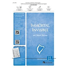 Jubal House Publications Immortal, Invisible, God Only Wise SATB arranged by Mark Hayes