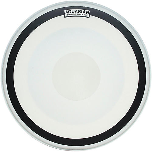 Aquarian Impact Coated Single-Ply Bass Drum Head