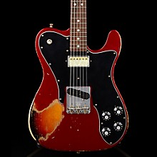 Imperial Arc 1972 Telecaster Custom Masterbuilt by Paul Waller, Rosewood Candy Apple Red over 3-Color Sunburst
