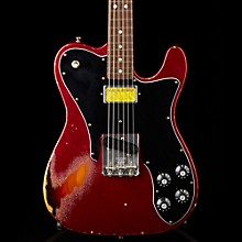 Imperial Arc 1972 Telecaster Custom Masterbuilt by Paul Waller, Rosewood Red Sparkle over 3-Color Sunburst