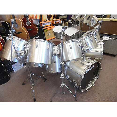 Used Tama Imperial Star Custom 15 Piece Kit W Mounting