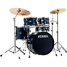 Imperialstar 5-Piece Complete Drum Set with Meinl HCS cymbals and 20 in. Bass Drum Dark Blue