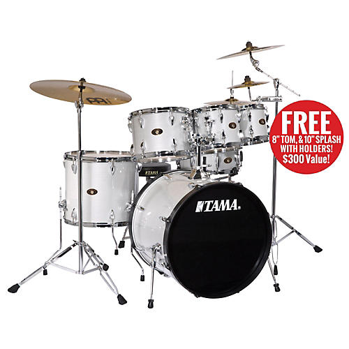 TAMA Imperialstar 5-Piece Drum Set with Cymbals and Free 8