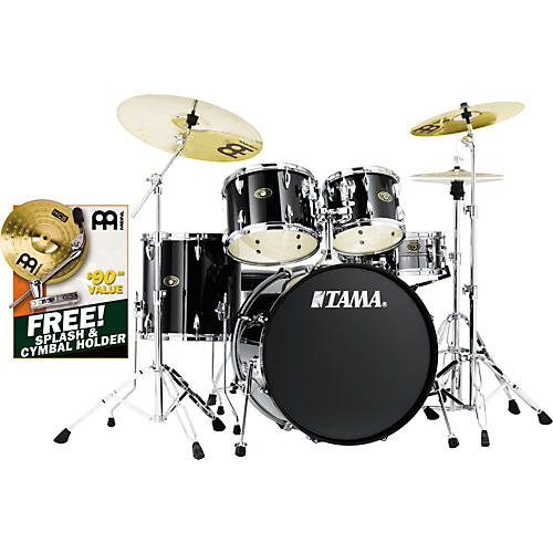 TAMA Imperialstar 5-Piece New Fusion Drum Set with Cymbals