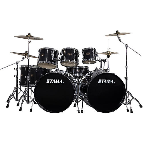 Tama Imperialstar 8 Piece Drum Set With Meinl Hcs Cymbals Hairline