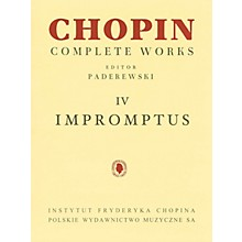 PWM Impromptus (Chopin Complete Works Vol. IV) PWM Series Softcover
