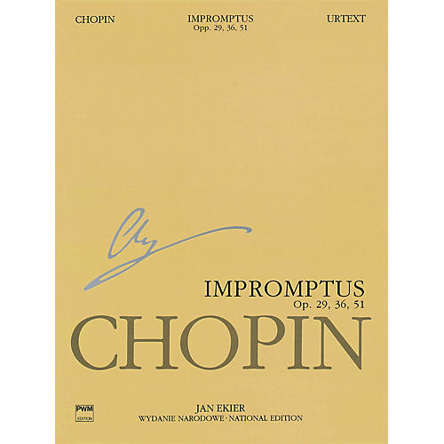 PWM Impromptus Op. 29, 36, 51 (Chopin National Edition) PWM Series Softcover