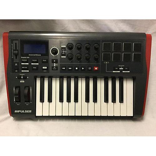 Novation Impulse 25 Key MIDI Controller