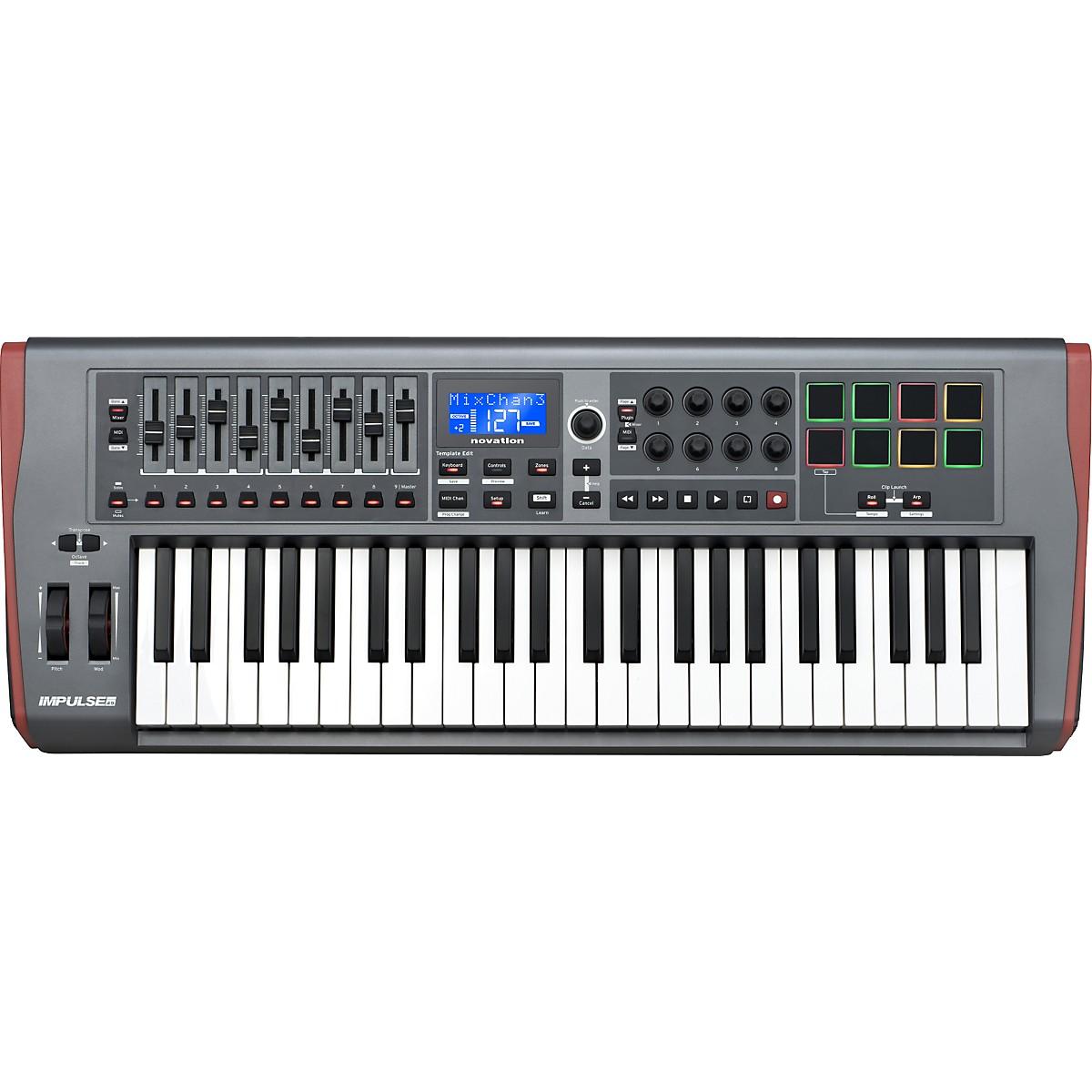Novation Impulse 49 MIDI Controller