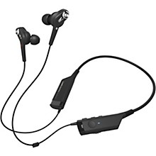 Audio-Technica In-Ear Neck Worn Noise Cancelling and Bluetooth Headphones Level 1 Black