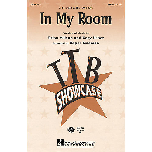 Hal Leonard In My Room ShowTrax CD by Beach Boys Arranged by Roger Emerson