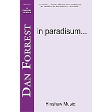 Hinshaw Music In Paradisum SSAATTBB composed by Dan Forrest