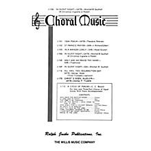 Willis Music In Silent Night (SATB a cappella) SATB Composed by Mitchell Southall
