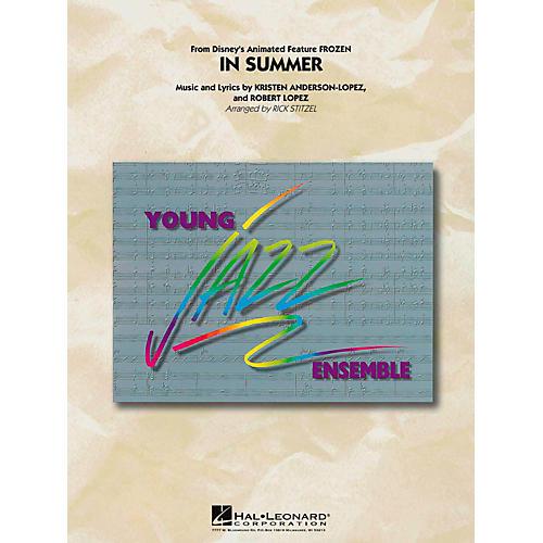 Hal Leonard In Summer (From Frozen) Jazz Band Level 3