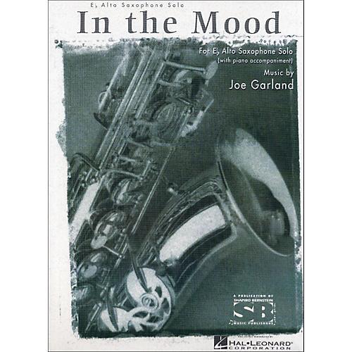 Hal Leonard In The Mood E Flat Alto Saxophone with Piano Accompaniment