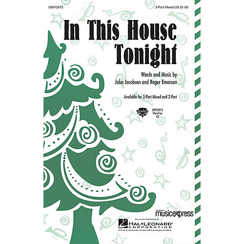 Hal Leonard In This House Tonight ShowTrax CD Composed by John Jacobson/Roger Emerson