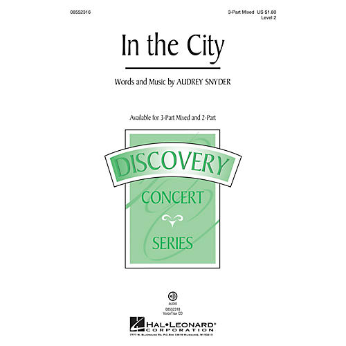 Hal Leonard In the City (Discovery Level 2) 2-Part Composed by Audrey Snyder
