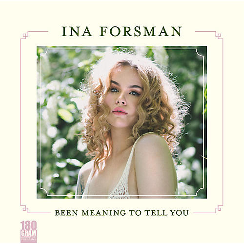 Alliance Ina Forsman - Been Meaning To Tell You