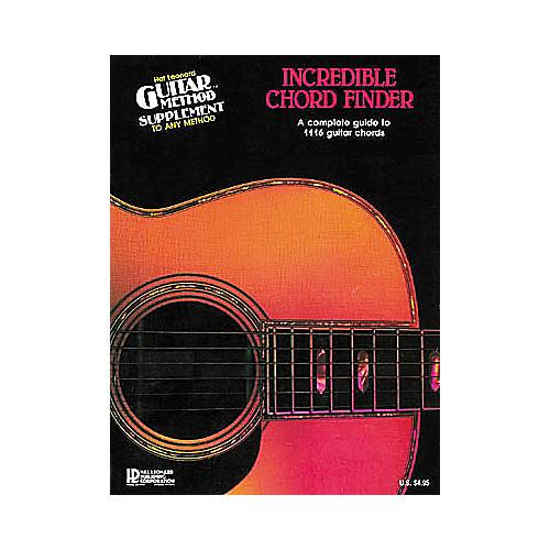 Hal Leonard Incredible Chord Finder 9