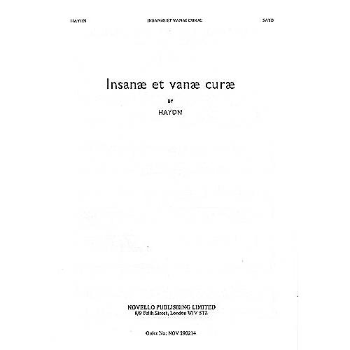 Novello Insanae Et Vanae Curae (Vocal Score) SATB Composed by Franz Joseph Haydn Arranged by Joseph Barnby