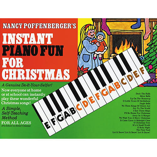 Schoenhut Instant Piano Fun Book for Christmas