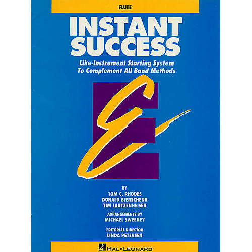 Hal Leonard Instant Success - Eb Alto Clarinet (Starting System for All Band Methods) Essential Elements Series