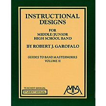 Meredith Music Instructional Designs for Middle/Junior High School Bands Meredith Music Resource by Robert Garofalo