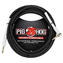 "Pig Hog Instrument Cable 1/4"" - 1/4"" Right Angle (10 ft.)"