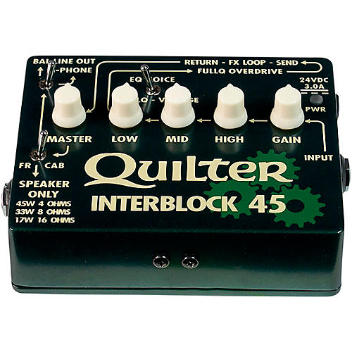 quilter labs interblock 45 45w guitar amp head guitar center rh guitarcenter com