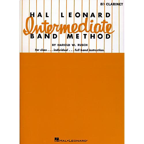 Hal Leonard Intermediate Band Method B Flat Clarinet