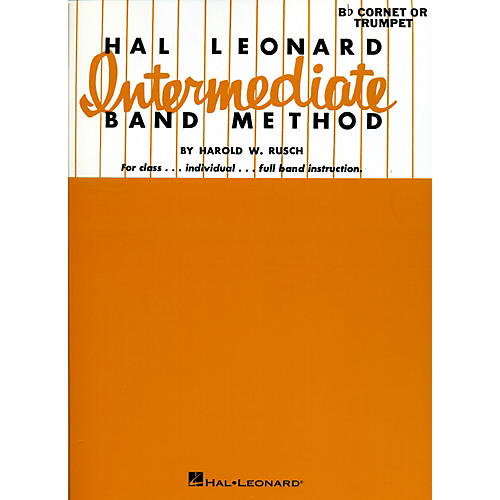 Hal Leonard Intermediate Band Method Bb Cornet Or Trumpet