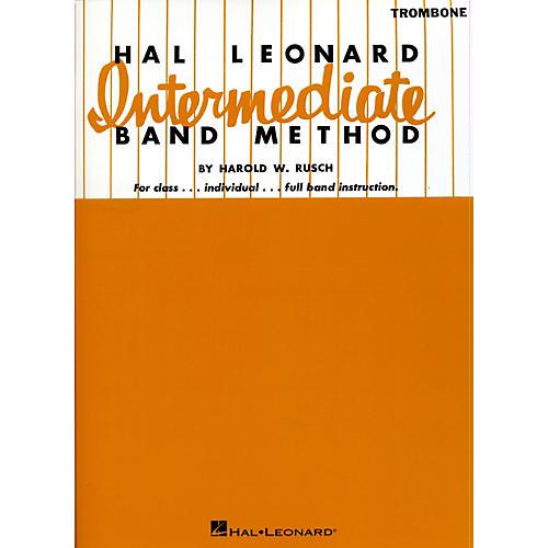 Hal Leonard Intermediate Band Method Trombone