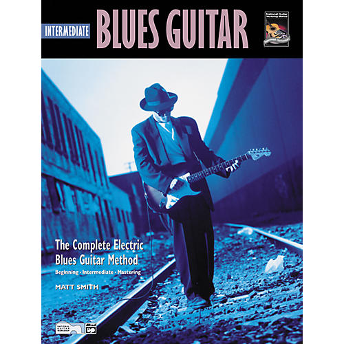 Alfred Intermediate Blues Guitar (Book/CD)