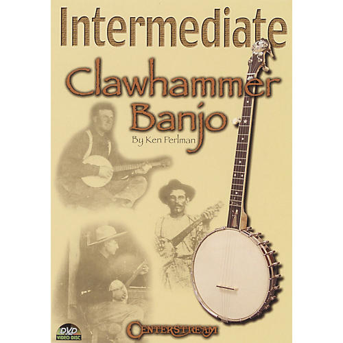 Centerstream Publishing Intermediate Clawhammer Banjo (DVD)