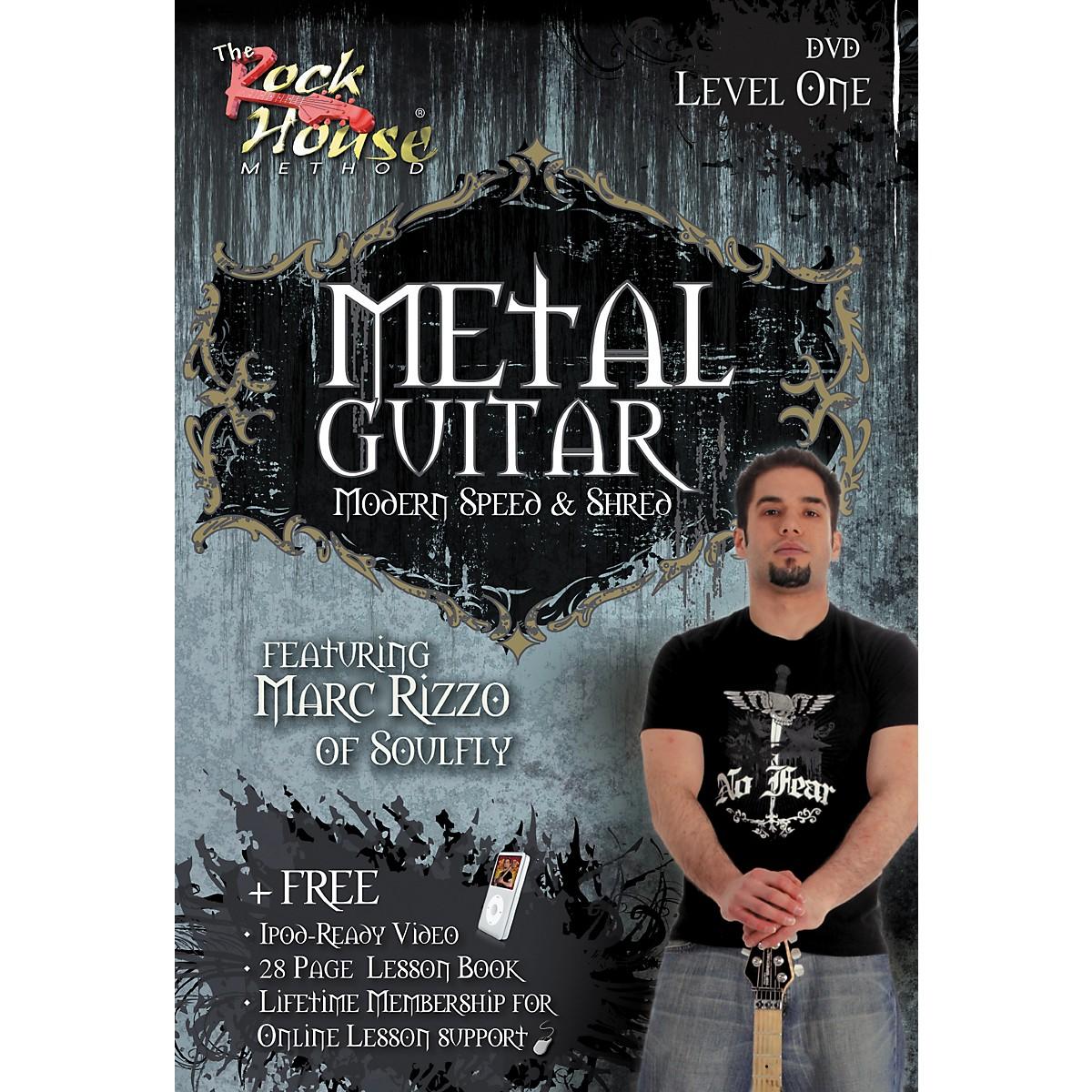 Hal Leonard Intermediate Metal Guitar with Marc Rizzo (Book/DVD)