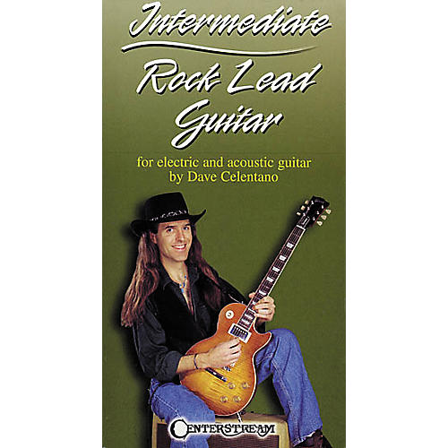 Centerstream Publishing Intermediate Rock Lead Guitar (VHS)
